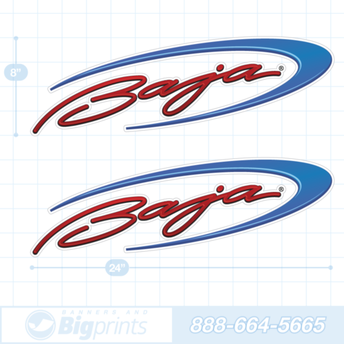 Baja boat decals factory swoop usa sticker package